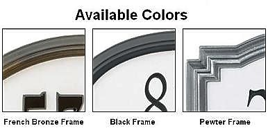 reflective address plaque - Frame color choices