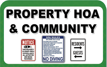 Property Management Signs for Sale