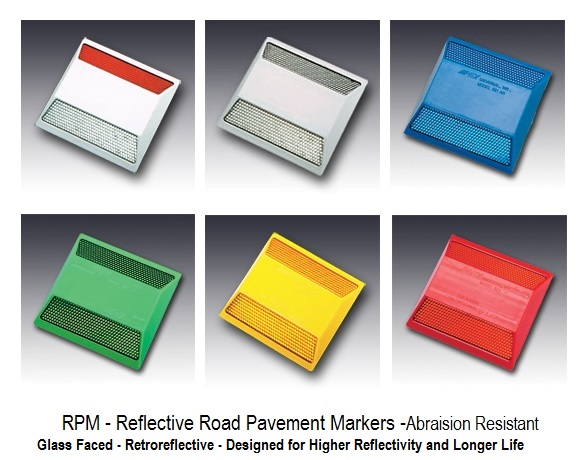 Reflective Road Pavement Markers