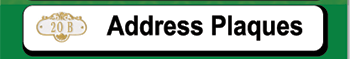 Personalized Address Plaques for Sale