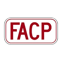 FACP - Sign to identify Fire Alarm Control Panel