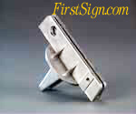 street sign bracket 90 UF for flat sign