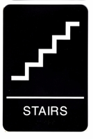 Stairs symbol Braille Sign Stair Sign with ADA Braille,Stair sign,Stair symbol signs,Stair symbol braille sign,Stair symbol tactile sign,Stair symbol ADA signs
