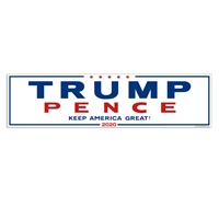Trump Pence for President Political Election Decal / Bumper Sticker donald trump, mike pence, trump, pence, president, presidental, election, political, candidate, decals, bumper sticker, label