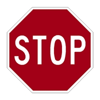 R1-1 Offical Regulatory Stop Signs 3M reflective