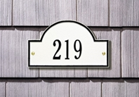 "Arch Marker Address Plaque 15.75"" x 9.25"""