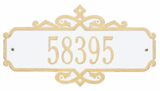 "Coventry Address Plaque 16.25"" x 8.75"""