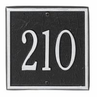 "Square Address Plaque 11"" x 11"""