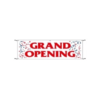 Grand Opening Banner 3 x10