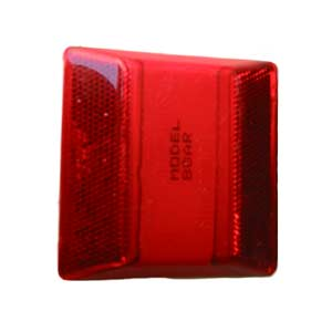 RPM-921-R -RED Road Pavement Marker - or Reflector Bidirectional