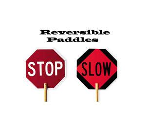 Stop/Slow Paddle 18""
