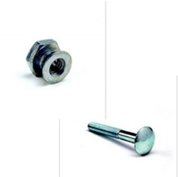 "Vandalguard 2 1/2"" Truss Head Bolt & Nut Set"