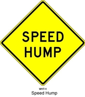 Speed Hump W-17-1  30